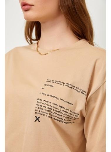 Setre Bej T-Shirt Eşofman Altı Takım Bej